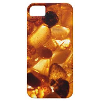 Bernsteinfarbige Körner mit iPhone 5 Hüllen