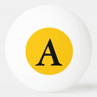 Bernsteinfarbiger Normallack fertigen es besonders Ping-Pong Ball