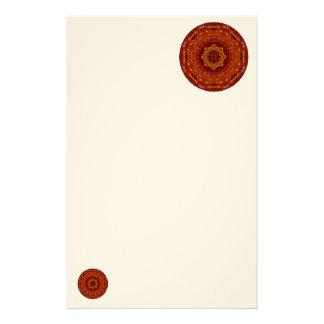 Bernsteinfarbiges Glühen Briefpapier