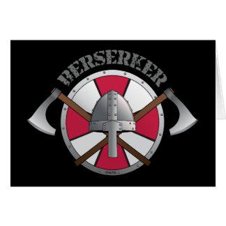 Berserker Logo Karte