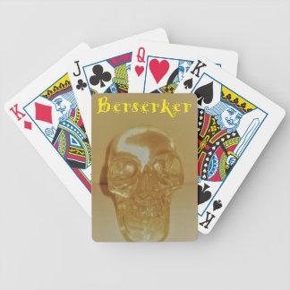 Berserker Schädel Bicycle Spielkarten
