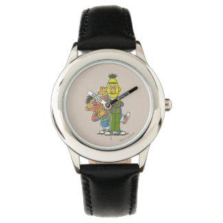 Bert- und Ernieklassiker-Art Armbanduhr