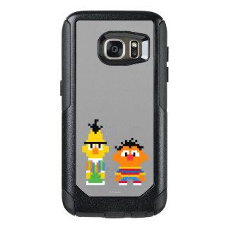Bert- und Erniepixel-Kunst OtterBox Samsung Galaxy S7 Hülle