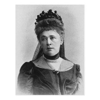 Berta Von Suttner Postkarte