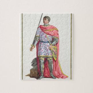 "Bertrand du Guesclin (1320-80) von ""Receuil DES E Foto Puzzles"