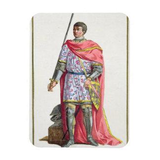 "Bertrand du Guesclin (1320-80) von ""Receuil DES E Rechteckige Magnete"