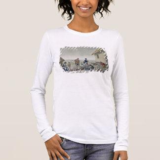 Berufe der Agagna Leute, Mariana Island, Langarm T-Shirt