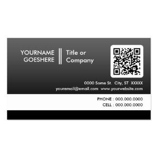 beruflich verblassen QR Code Visitenkarten