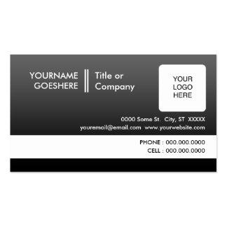 beruflich verblassen Sie: (2-sided): Visitenkarten