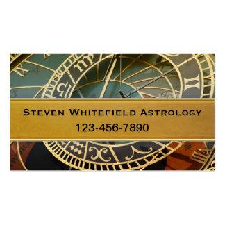 Berufliche Astrologe-Geschäfts-Karte Visitenkarten