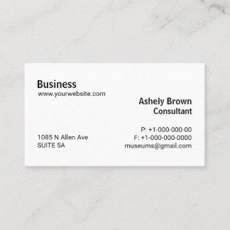 Berufliche Berater-Ebenen-einfacher Computer Busi Visitenkarte