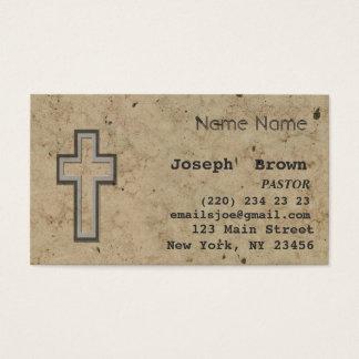 Berufliche christliche Querjesus-Religion Visitenkarte
