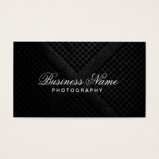 Berufliche elegante moderne Metallphotographie Visitenkarten