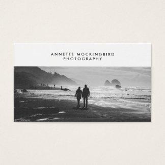 Berufliche Foto-Minimalist-Fotografie Visitenkarte