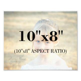 Berufliche Foto-Schablone 10 x 8 Längenverhältnis Fotodruck