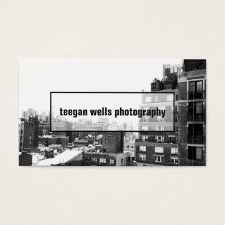 Berufliche Fotograf-Foto-Karte Visitenkarte