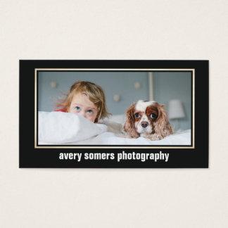 Berufliche Fotograf-Fotografie-Foto-Karte Visitenkarte