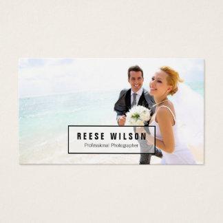 Berufliche Fotograf-Fotografie Visitenkarte