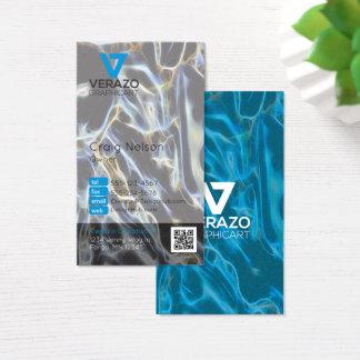 Berufliche Geschäftskarte des Grafikdesigners Visitenkarte