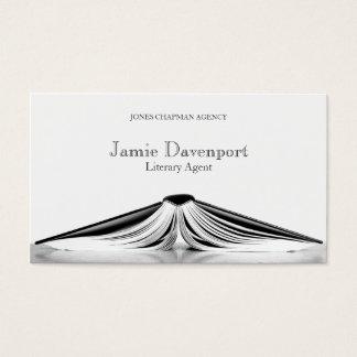 Berufliche literarische Agent-Buch-Geschäfts-Karte Visitenkarten