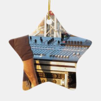 Berufliche mischende Audiokonsole Keramik Stern-Ornament