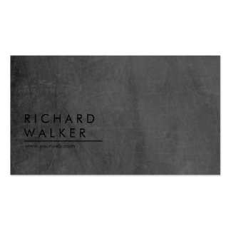 Berufliche moderne minimale Tafel elegant Visitenkarten