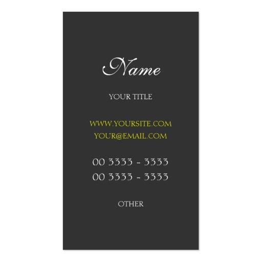 Berufliche moderne und elegante 3 visitenkartenvorlage