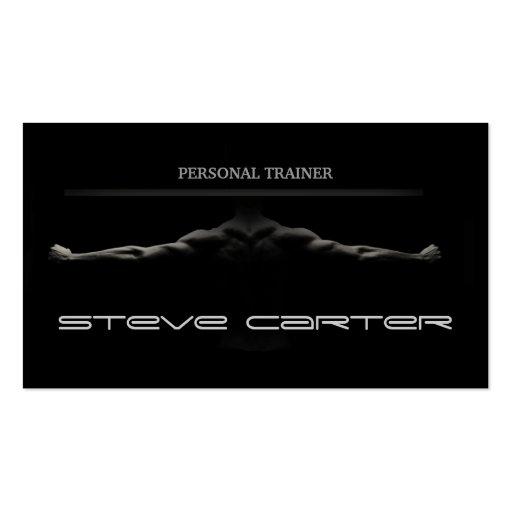 berufliche persönliche Trainer-/Bodybuilder-Karte Visitenkarten Vorlagen