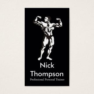 Berufliche persönliche Trainer-/Bodybuilder-Karte Visitenkarte