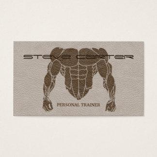 berufliche persönliche Trainer-/Bodybuilder-Karte Visitenkarten