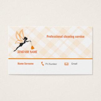 Berufliche Reinigungsservice-Geschäftskarte Visitenkarte