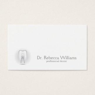 Berufliche Zahnarzt-Geschäfts-Karte Visitenkarte