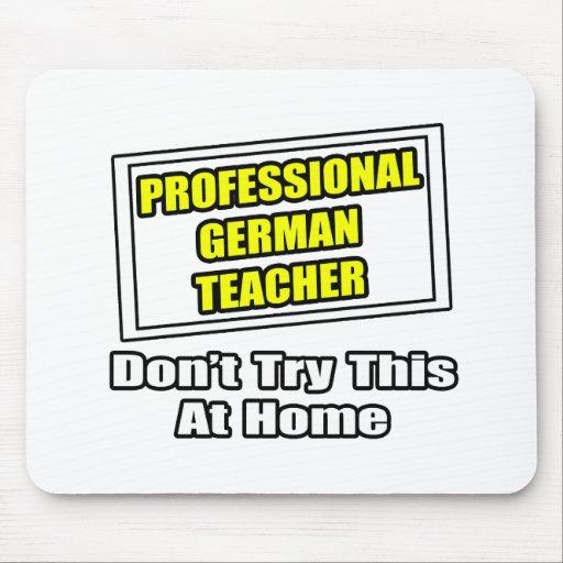 Beruflicher deutscher Lehrer-… Witz Mauspad