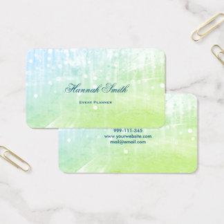 Beruflicher eleganter moderner LuxusGlitter Visitenkarte