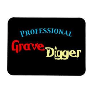 Beruflicher ernster Gräber Magnet