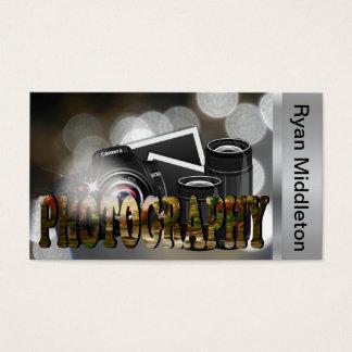 Beruflicher Fotograf Visitenkarte