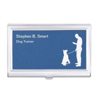 Beruflicher Hundetrainer Visitenkarten Etui