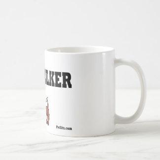 Beruflicher Hundewanderer Kaffeetasse