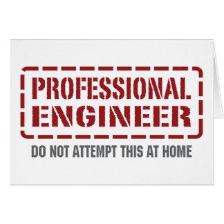 Beruflicher Ingenieur Karte