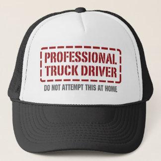 Beruflicher LKW-Fahrer Truckerkappe