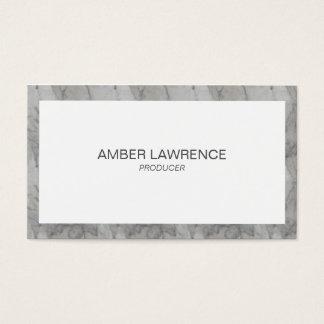Beruflicher Luxe Marmor Visitenkarte