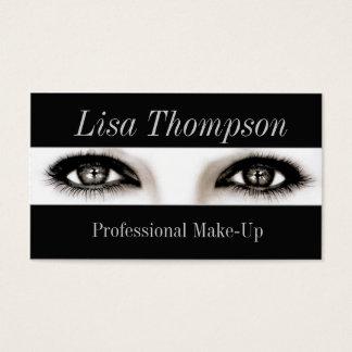 Beruflicher Make-upkünstler/Make-upvorbildliche Visitenkarte
