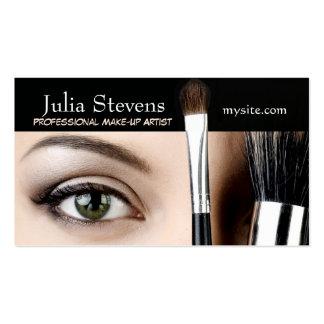 Beruflicher Make-upkünstler, Visitenkarten