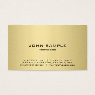 Beruflicher moderner eleganter Schwarz-und Visitenkarte