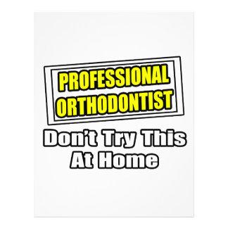 Beruflicher Orthodontist-… Witz Flyers