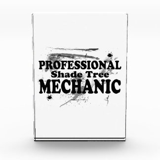 Beruflicher Schatten-Baum-Mechaniker Acryl Auszeichnung