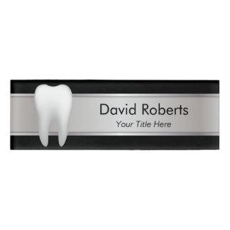 Beruflicher Zahnarzt-Zahnarzthelfer Namenschild