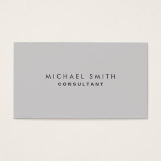 Berufliches elegantes einfaches einfaches modernes visitenkarten