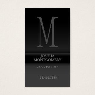 Berufliches elegantes Geschäftskartenentwurf Visitenkarte