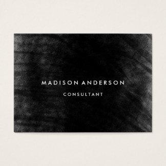 Berufliches elegantes modernes schwarzes visitenkarte